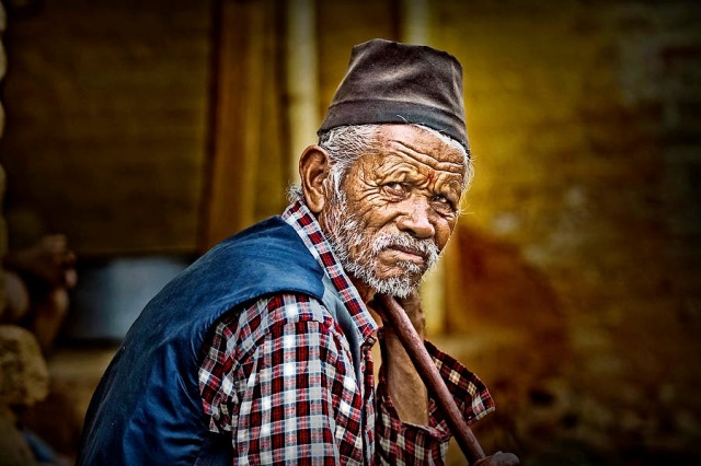 old-man-wrinkled-portrait-kathmandu-nepal-shahnawaz-mohammad