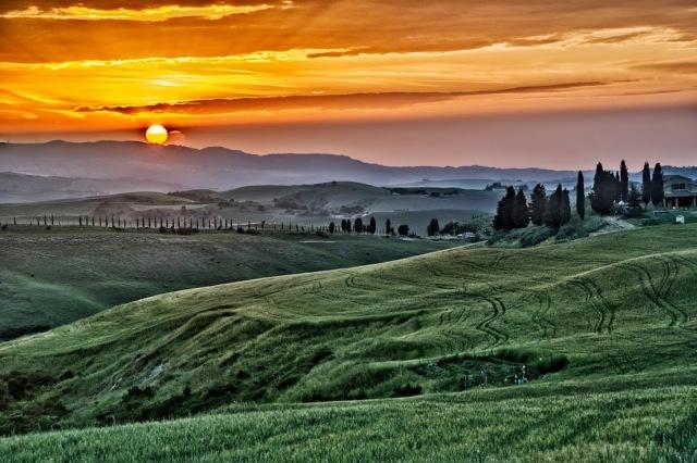 Volterra sunset II