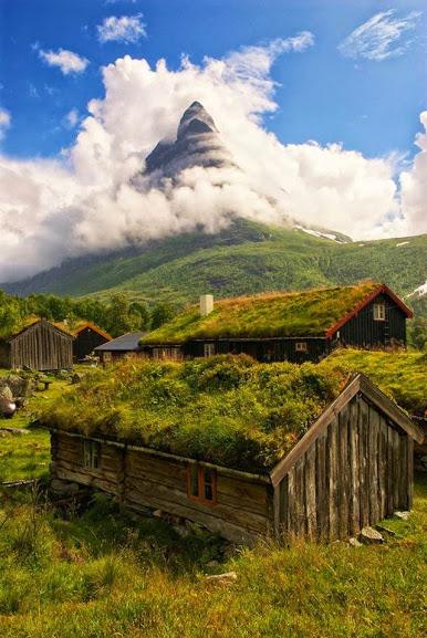 Innerdal Tower, Romsdal, Norway
